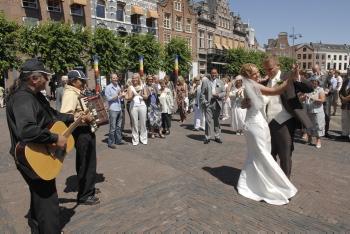Trouwerij Linde en Niels in Haarlem